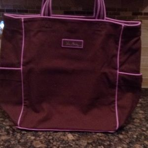Extra large Vera Bradley tote bag